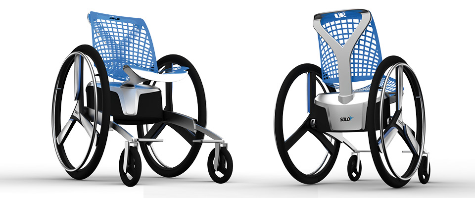 Solo Electrically Assisted Concept Wheelchair