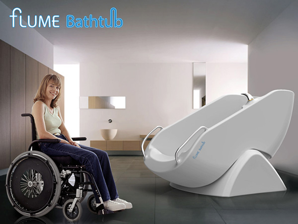 Flume Bathtub | Accessible Bathtub Concept DesignUniversal Design ...