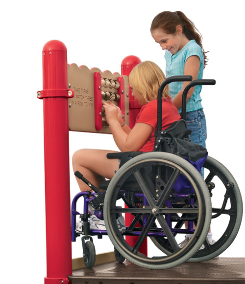 Wheelchair Accessible Playground Equipment