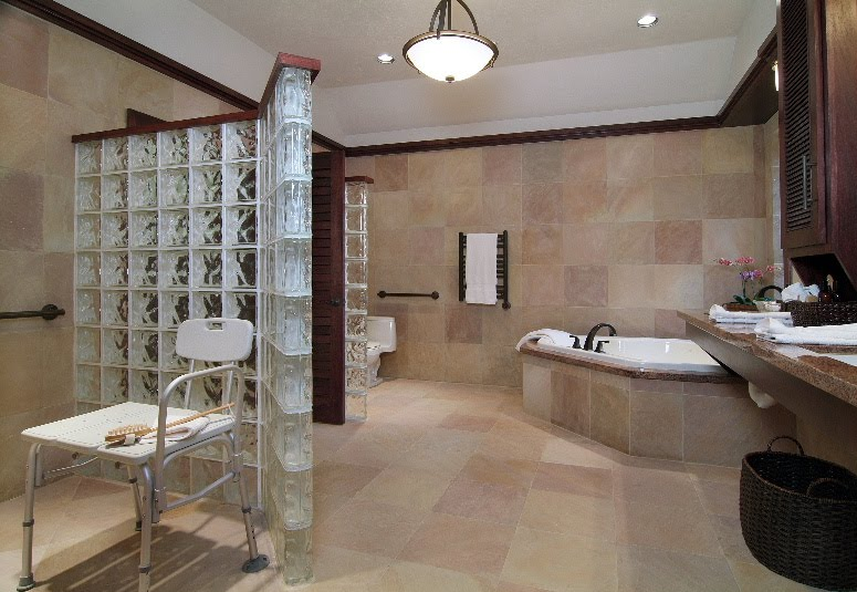 carla aston accessible bathroom - Handicap Accessible Bathroom