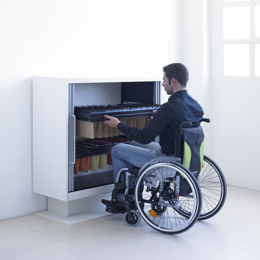 Universal Xenon Accessible Office Furniture