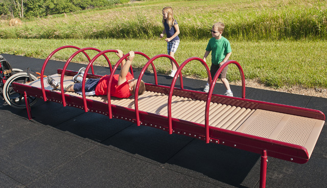 wheelchair accessible outdoor play equipment 2