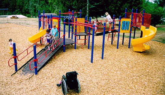 Portland Rose Park Accessible Playground