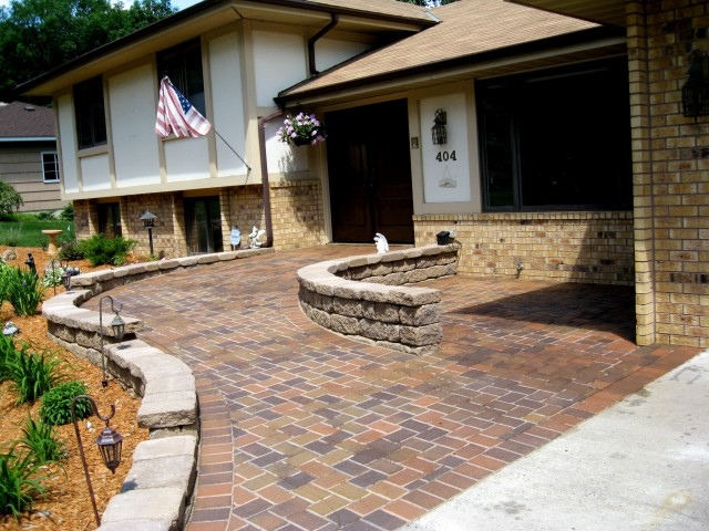 Delightful Stylish Brick Wheelchair Ramp By Patios Plus