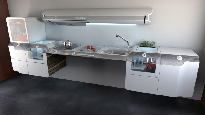 Liberty project accessible kitchen by whirlpool latin america - Accessible kitchen design ...