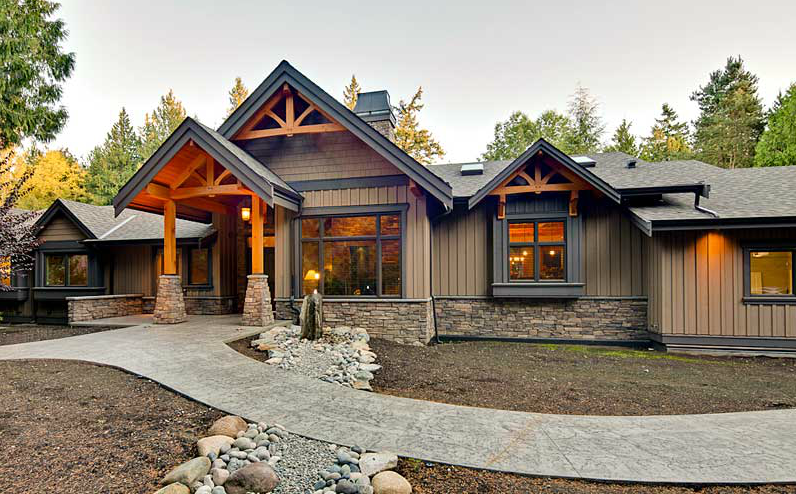 Accessible ranch home renovation in british columbia for Ranch house remodel plans
