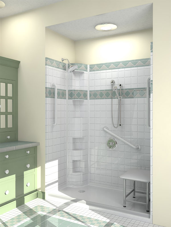 residential shower ideas accessible showers by best bathuniversal design style