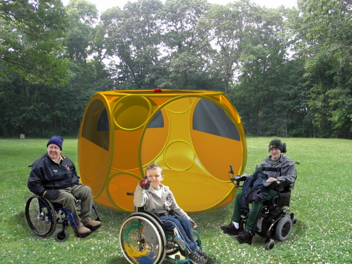 72 Hour Survival Shelter & Wheelchair Accessible Survival Shelter