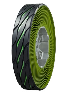 Bridgestone Non-Pneumatic (Airless) Concept Tire