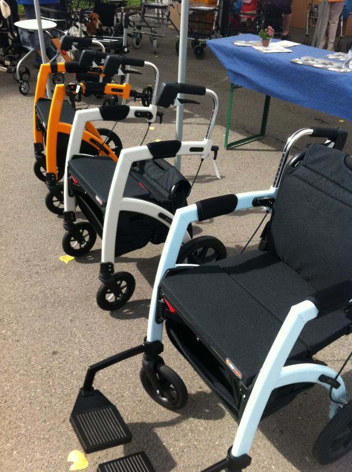 Rollator Two In One Walker And Wheelchair
