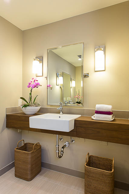 Baby boomer wheelchair accessible bathroom in austin for Wheelchair accessible sink bathroom
