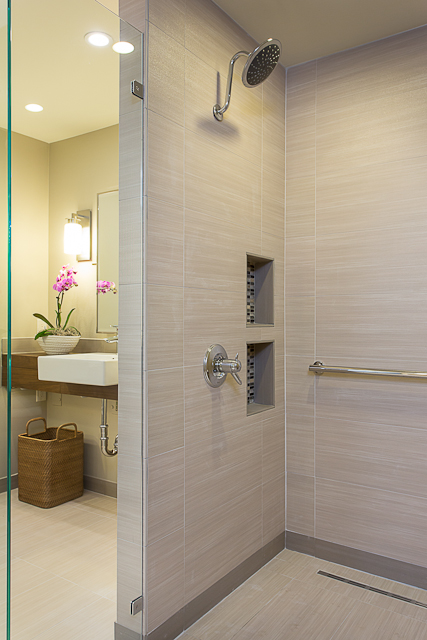 Baby Boomer Wheelchair Accessible Bathroom In Austin