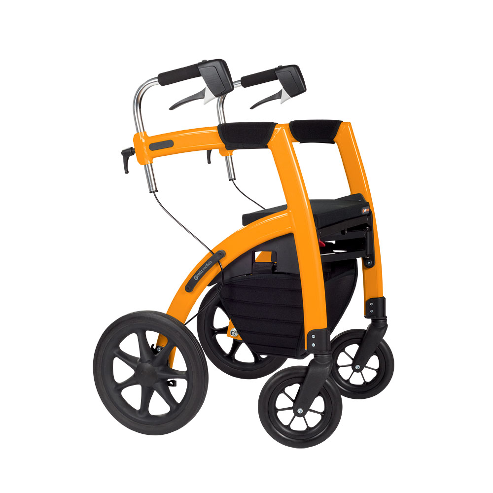 Rollator Two In One Walker And WheelchairUniversal Design