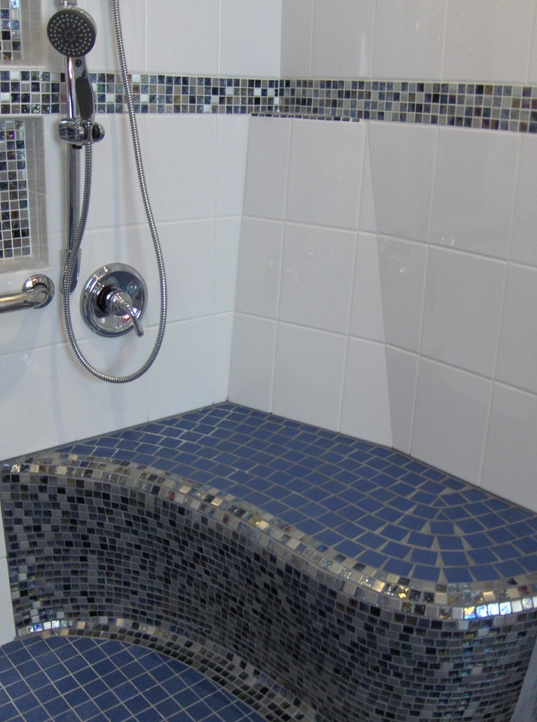 Uniquely Styled Wheelchair Accessible Bathroom By Lori