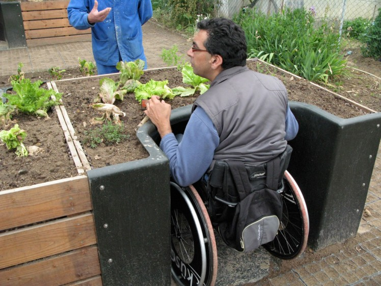 terraform wheelchair accessible garden kit