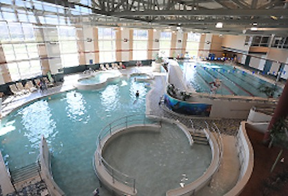 Kent State University Wheelchair Accessible Natatorium