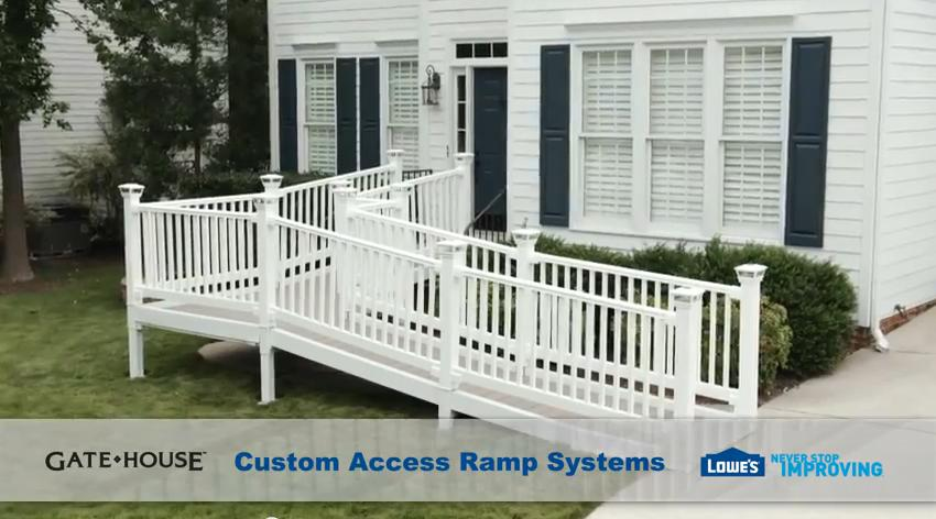 Storage Shed Ramps >> Gatehouse Modular Ramps by Lowes