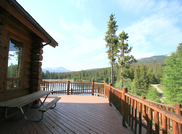 Scott Griffith Lodge Wheelchair Accessible Vaction Cabin