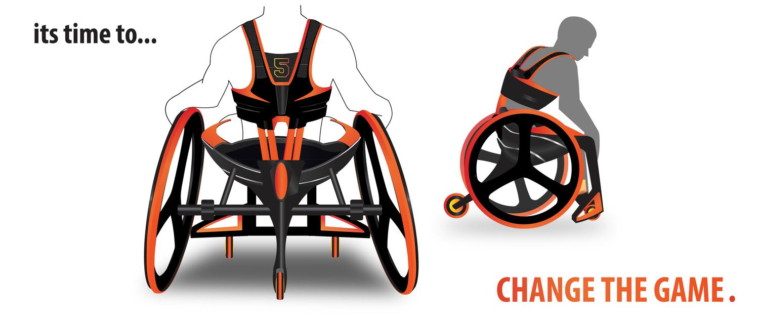 Wheelchair Basketball Concept For Class 1 2 Players