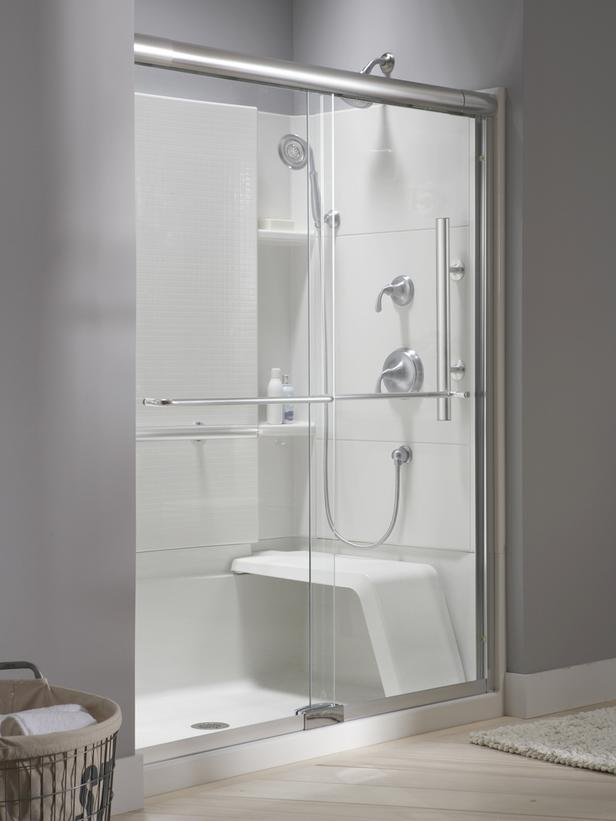 The Accord Seated Shower by Sterling Plumbing