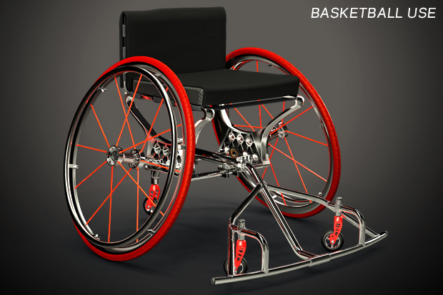cross training wheelchair concept