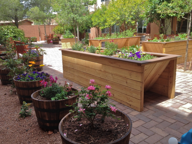 Handicap Accessible Raised Garden Beds