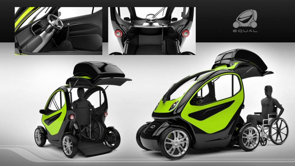 Smart Car Rental >> Equal | Wheelchair Accessible Car Concept