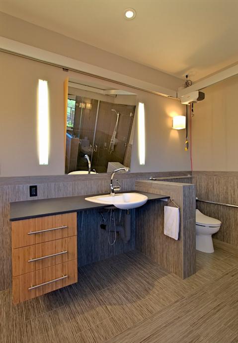 Wheelchair Accessible Sink Bathroom