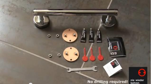Image Nie Wieder Bohren No Drilling Required